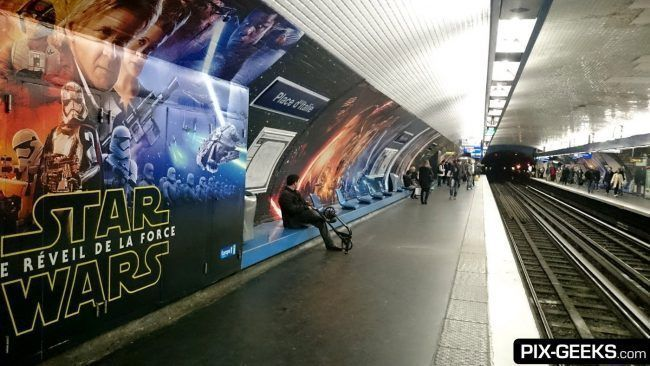 Star Wars Episode VII dans le Metro à Paris #3