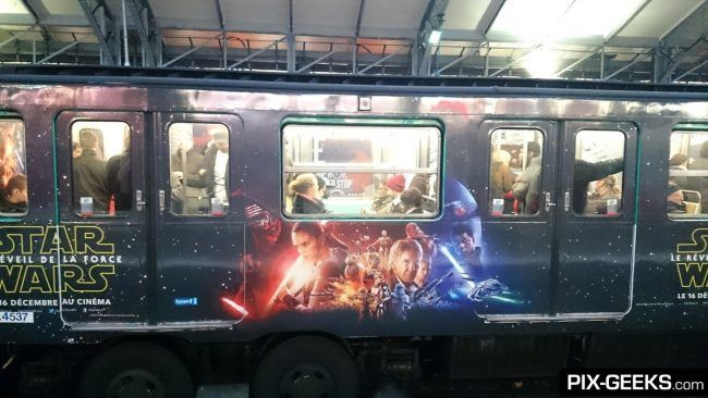 Star Wars Episode VII dans le Metro à Paris #9