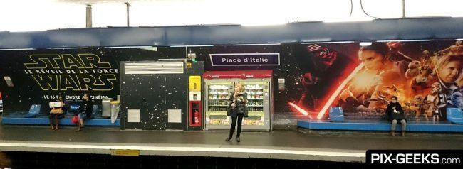 Star Wars Episode VII dans le Metro à Paris #5
