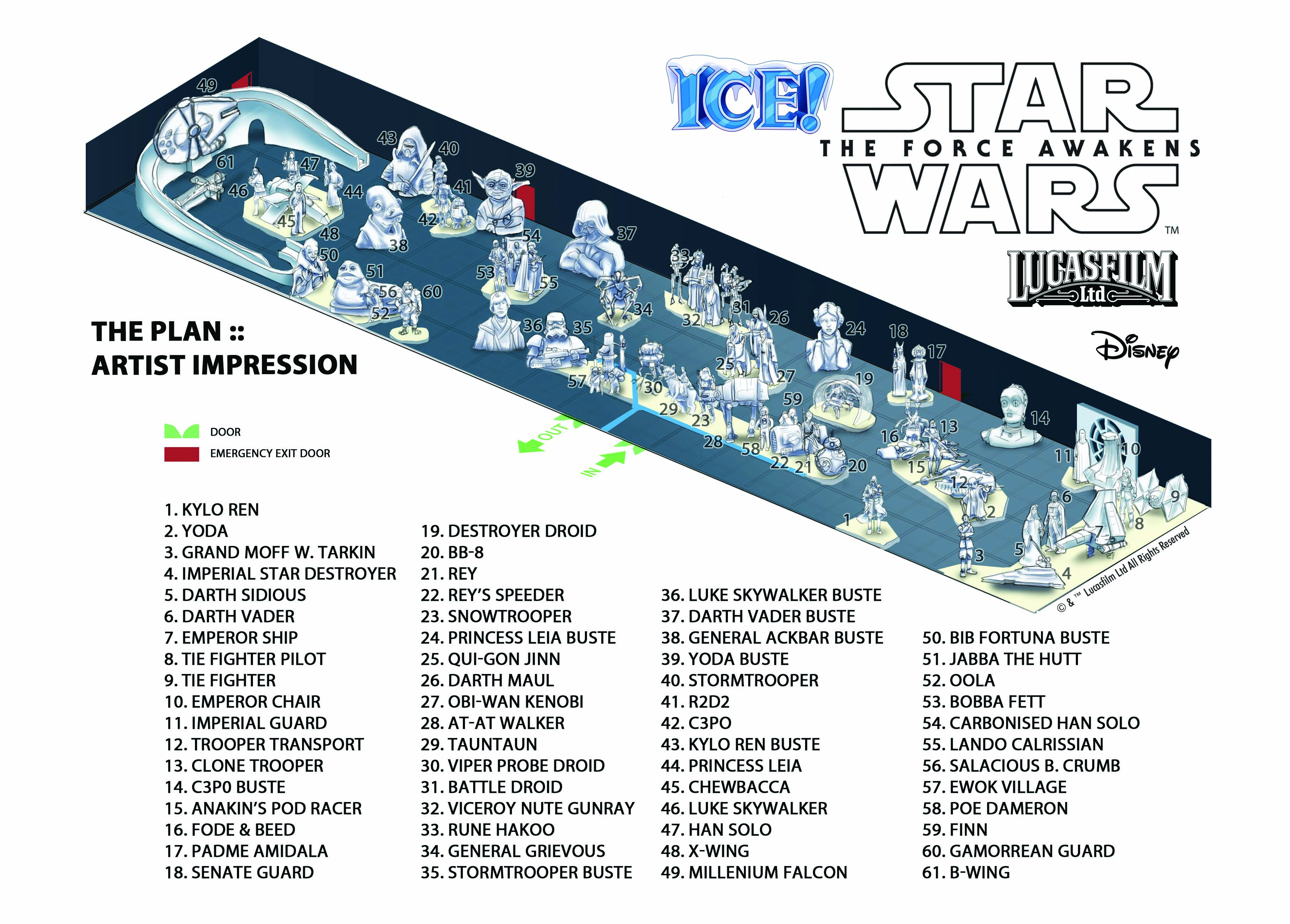 Ice Star Wars - Ice Sculpture Festival #1