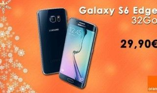Le Samsung Galaxy S6 Edge à 29,90€ chez Orange