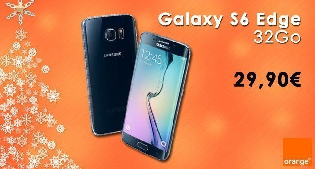 Le Samsung Galaxy S6 Edge à 29,90€ chez Orange #2