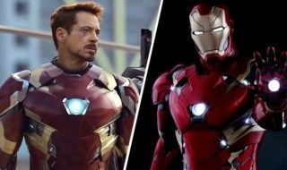 Captain America Civil War : 7 photos de la nouvelle armure d'Iron Man