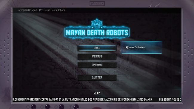 Test Mayan Death Robot : un excellent jeu inspiré de Worms #6