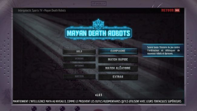 Test Mayan Death Robot : un excellent jeu inspiré de Worms #7