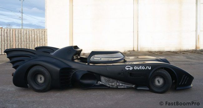 La Batmobile originale de Tim Burton est à vendre pour 1 million de Dollars #7