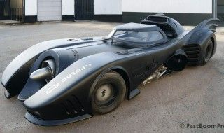 La Batmobile originale de Tim Burton est à vendre pour 1 million de Dollars