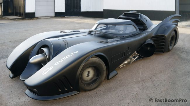 La Batmobile originale de Tim Burton est à vendre pour 1 million de Dollars #4