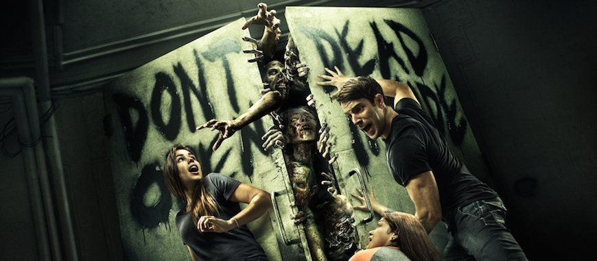 "Bientôt un parc ""The Walking Dead """