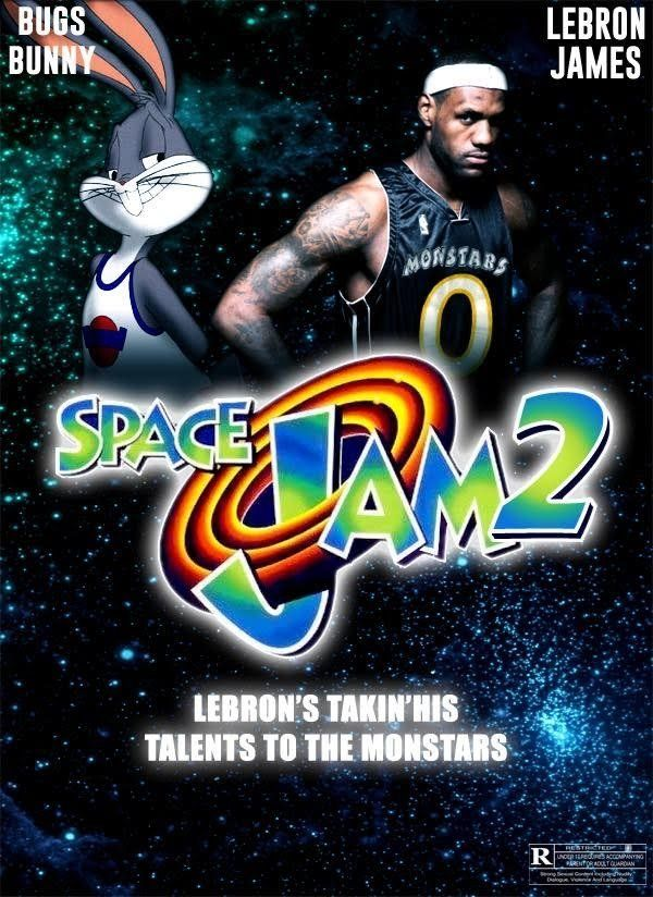 Affiche Space Jam 2