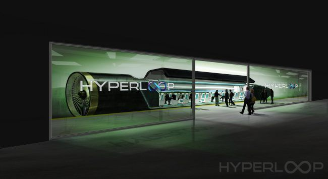 Hyperloop : un train supersonique propulsé dans un tube à 1200 km/h #4