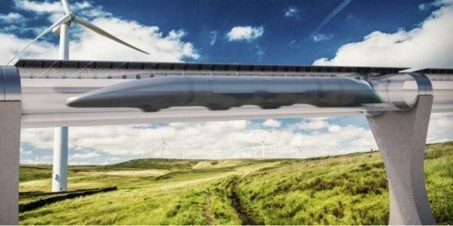 Hyperloop : un train supersonique propulsé dans un tube à 1200 km/h