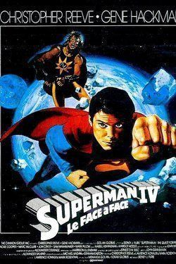Affiche Superman IV