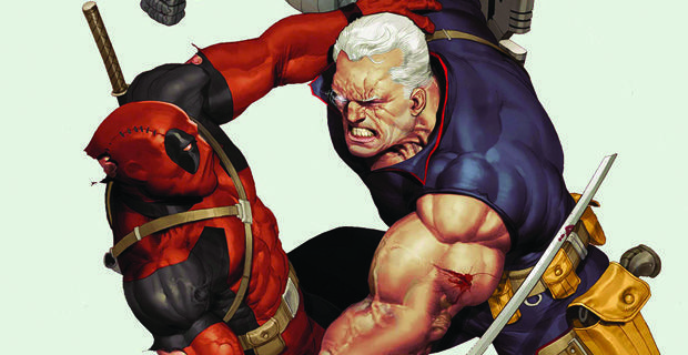 Cable-Fighting-Deadpool-X-Men-Marvel-Comics