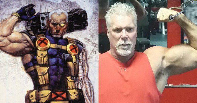 Kevin Nash / Cable