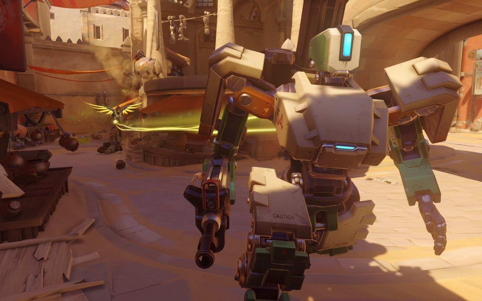 overwatch bastion gamescom