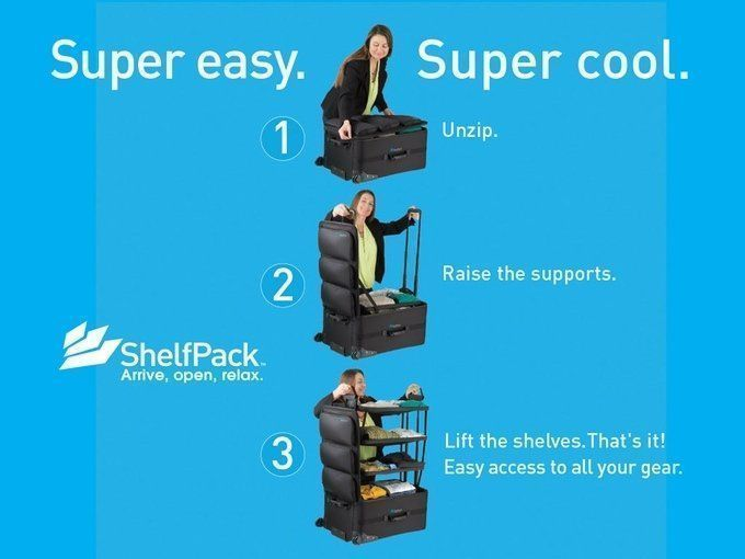 ShelfPack : la valise qui se transforme en dressing #2