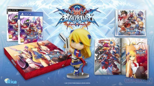BlazBlue Central Fiction : une sortie en Europe et une édition collector #3