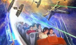 Hyperspace Mountain, la nouvelle attraction Star Wars de Disneyland Paris