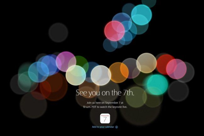 iPhone 7 : comment suivre la keynote Apple en direct #2