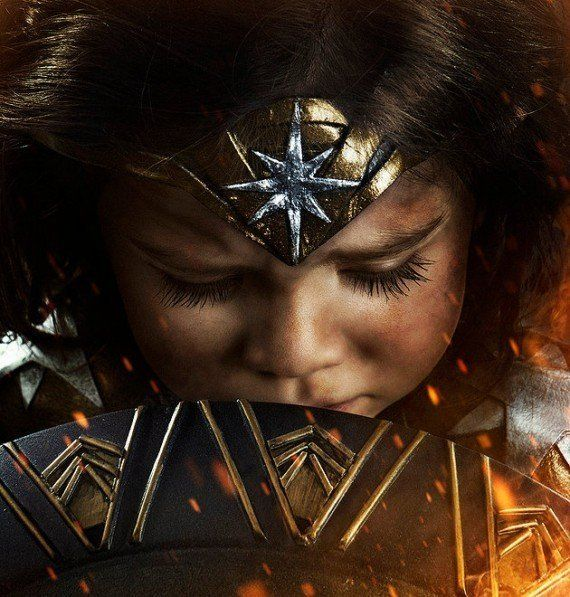 Halloween : un papa geek transforme sa fille en Wonder Woman #6