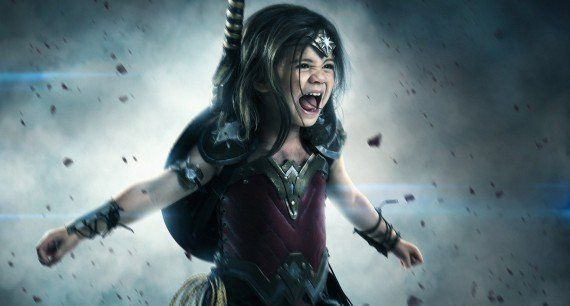 Halloween : un papa geek transforme sa fille en Wonder Woman