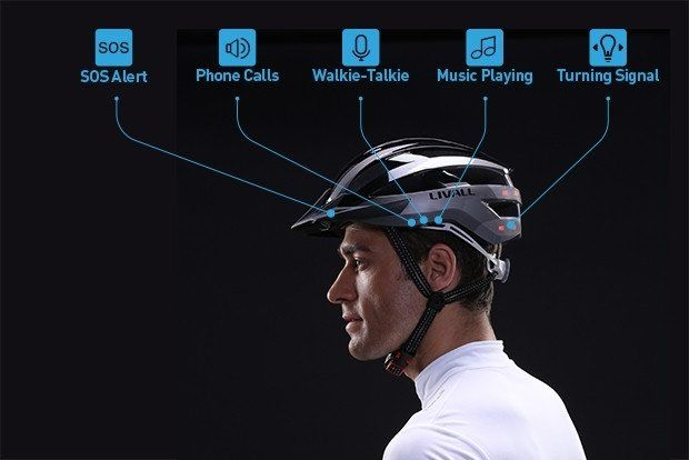 LIVALL imagine un casque de vélo intelligent