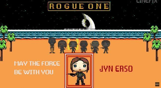 Retrogaming : Rogue One recréé en jeu 8-Bit