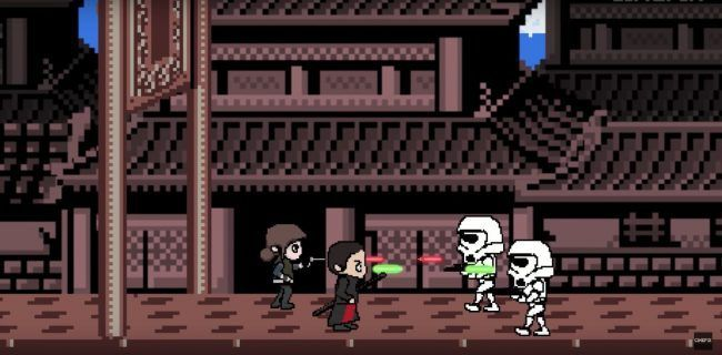 Retrogaming : Rogue One recréé en jeu 8-Bit #2