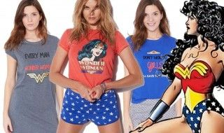 Wonder Woman sort sa collection de vêtements de nuit