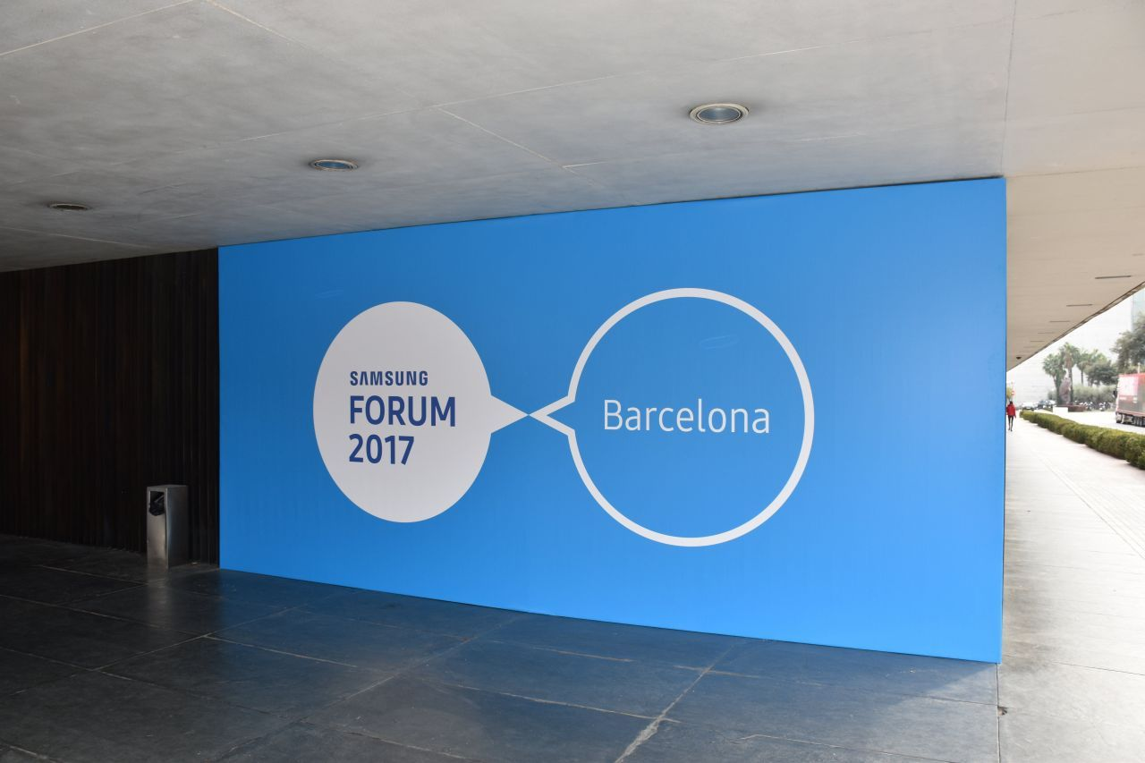 Samsung European Forum 2017 : de l'innovation dans l'air