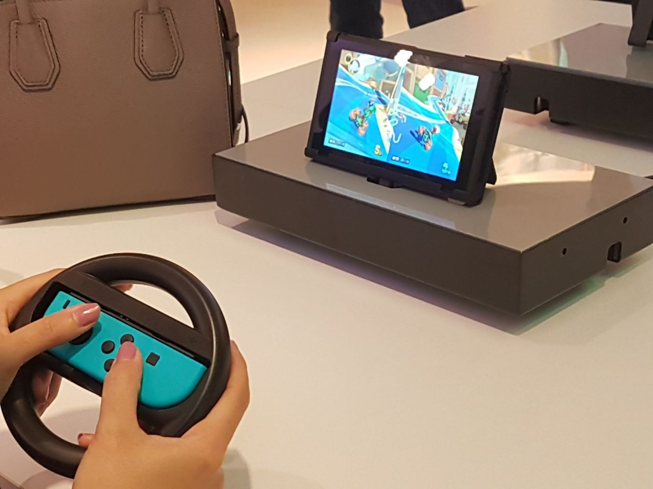Nintendo Switch : on a testé 1-2 Switch et Mario Kart 8 Deluxe ! #5