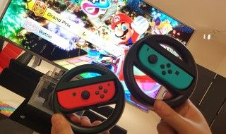 Nintendo Switch : on a testé 1-2 Switch et Mario Kart 8 Deluxe !