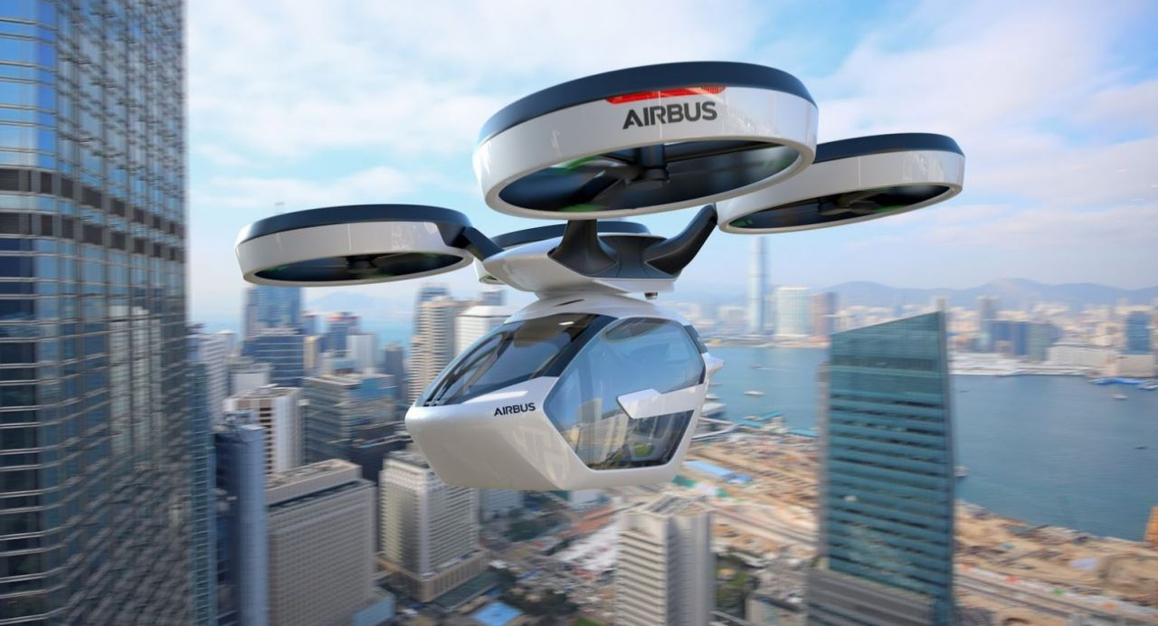 Pop Up : le taxi volant autonome d Airbus #1