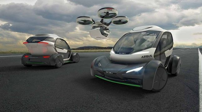 Pop Up : le taxi volant autonome d Airbus #2