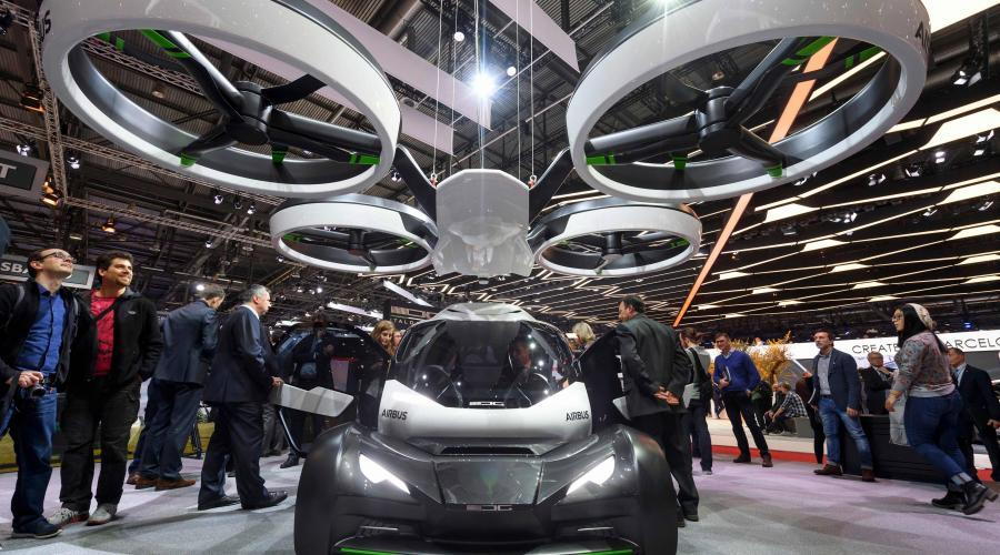 Pop Up : le taxi volant autonome d Airbus #3