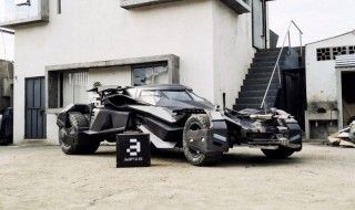 Batman V Superman : des fans recréent la batmobile grandeur nature