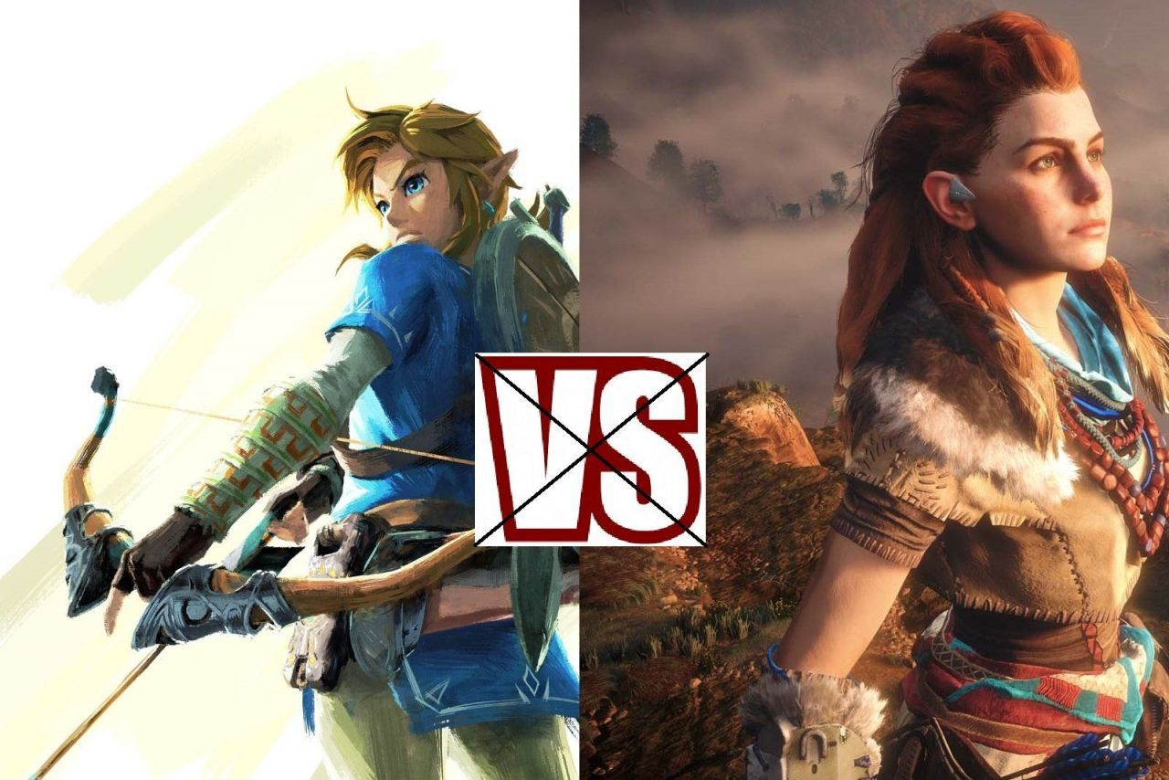 Arrêtez de comparer Horizon Zero Dawn et Zelda : Breath of the Wild