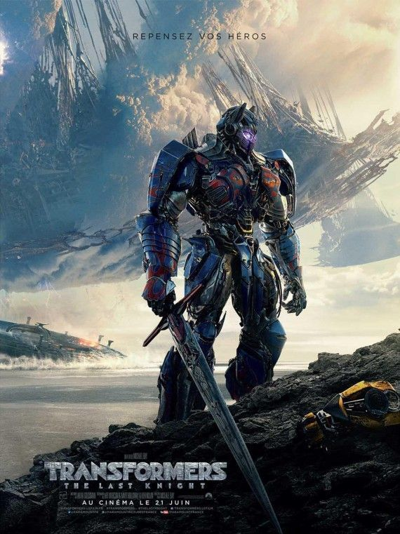 Transformers : The Last Knight s offre une nouvelle bande-annonce