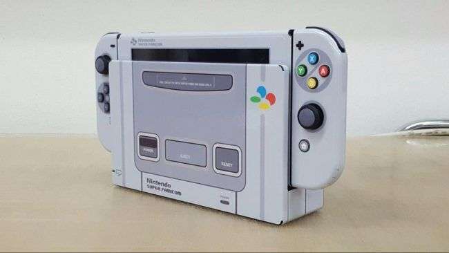 Il transforme sa Switch en console Super Nintendo #2