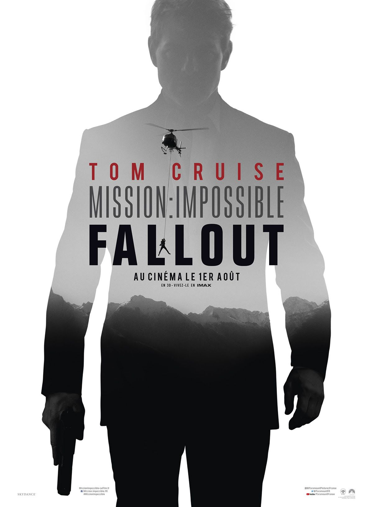Affiche Mission : Impossible 6 - Fallout