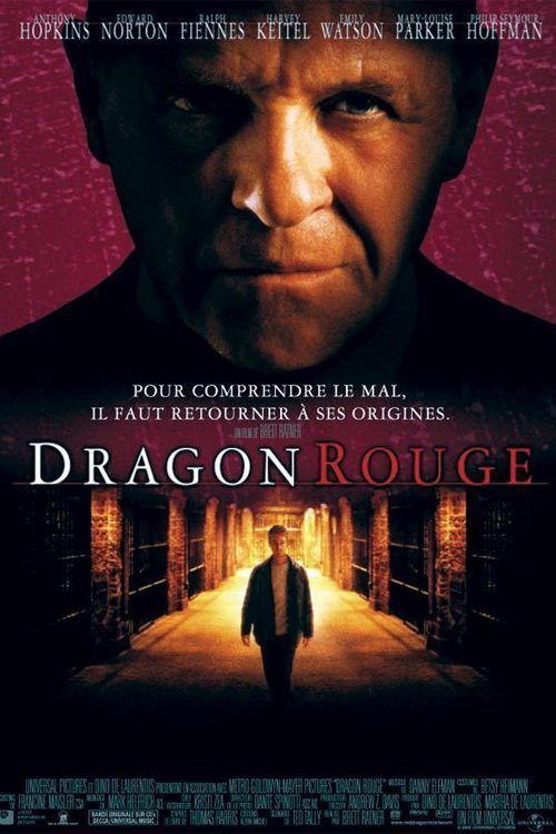 Affiche Dragon rouge