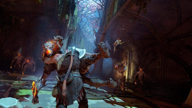 E3 2017 : God Of War Be a Warrior nous en met plein la vue #4