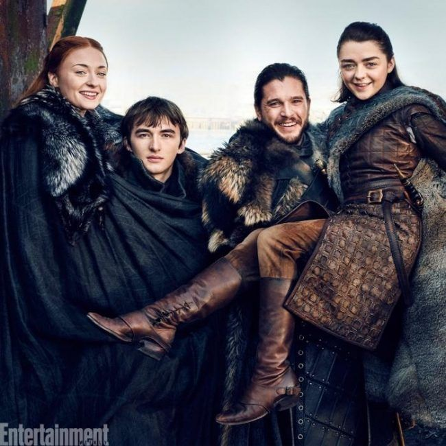 Game Of Thrones : Les Stark réunis en photo #9
