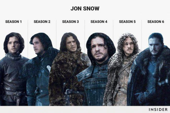 Game Of Thrones : L évolution de 6 personnages en 6 saisons #2