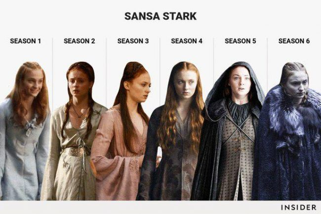 Game Of Thrones : L évolution de 6 personnages en 6 saisons #3