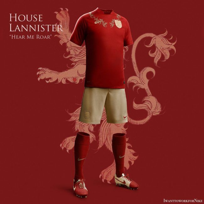 Game Of Thrones : Si les maisons jouaient au football
