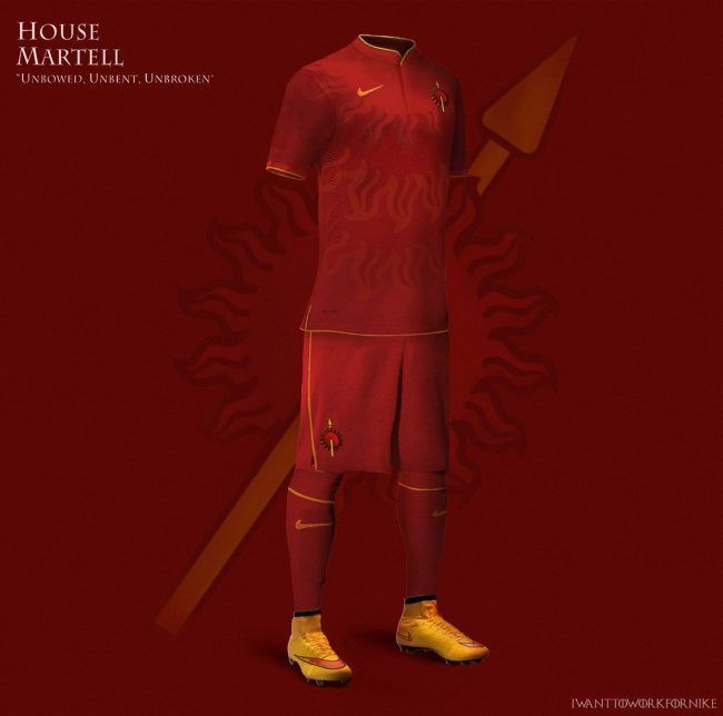 Game Of Thrones : Si les maisons jouaient au football #9