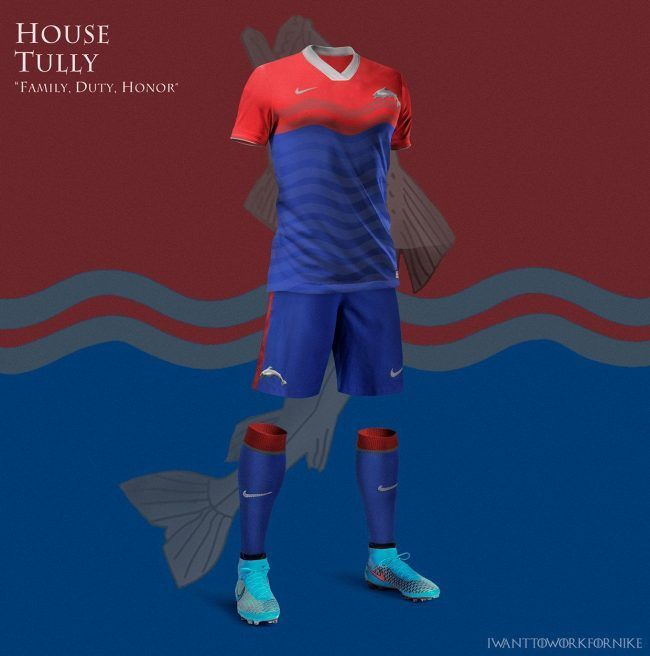 Game Of Thrones : Si les maisons jouaient au football #12