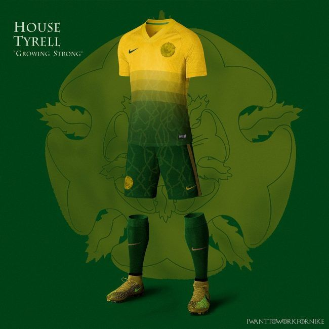 Game Of Thrones : Si les maisons jouaient au football #8